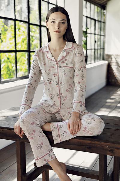 Rose Garden  - Set Pijama 2 piese 0