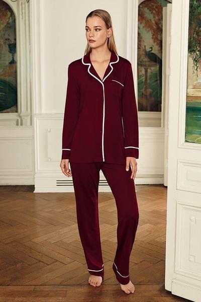 pijama-dama-1001nopti-bordo [0]