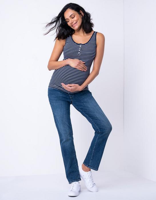 Relax Mama Jeans - Blugi pentru Gravide [4]