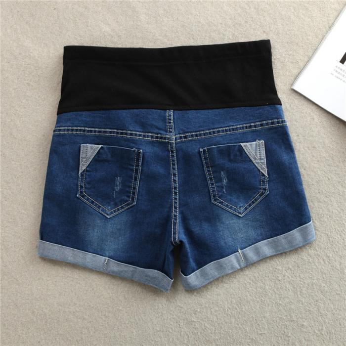Pantaloni scurti de jeans pentru gravida - Pantaloni Gravide - Hotmama.ro 2