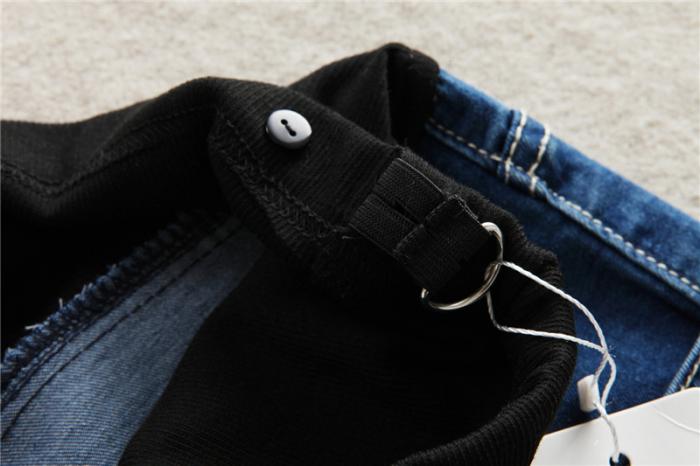 Pantaloni scurti de jeans pentru gravida - Pantaloni Gravide - Hotmama.ro 1