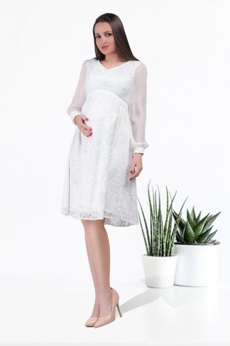 luxe-blanca-rochie-gravide-cununie-civila 0