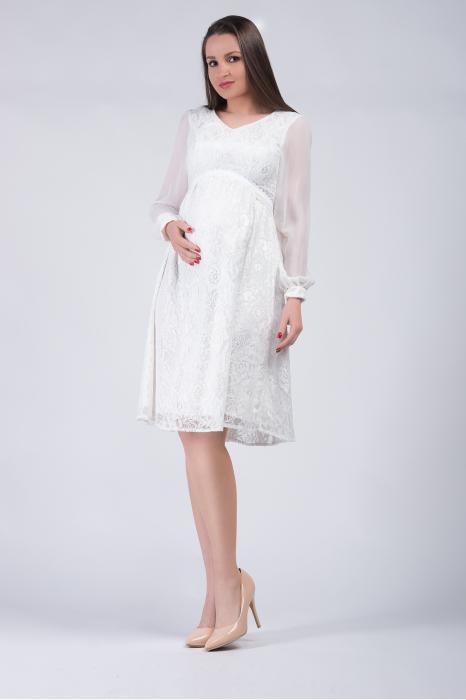 luxe-blanca-rochie-gravide-cununie-civila 1