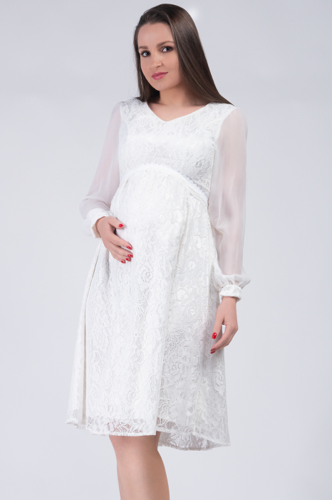 luxe-blanca-rochie-gravide-cununie-civila 2