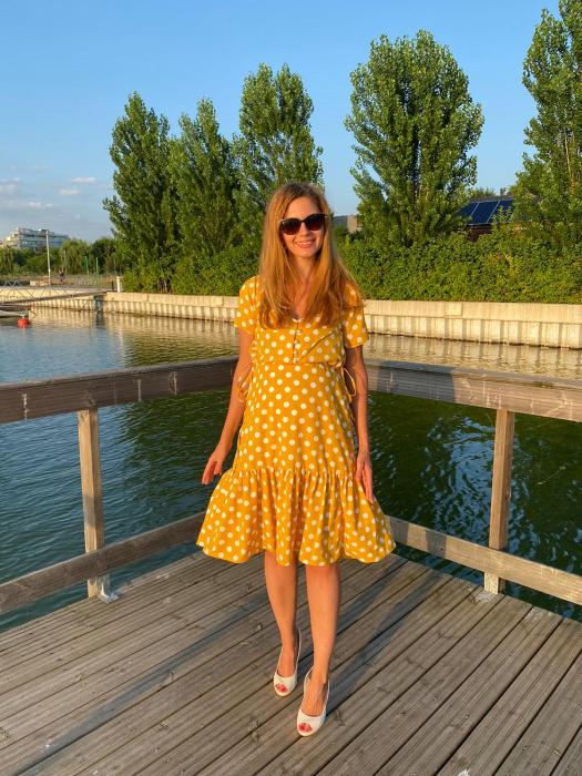 yellow-dots-rochie-eleganta-gravide [0]