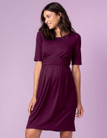 burgundy-style-rochie-gravida-alaptare [0]