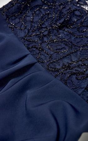 Blue Elegance- Rochie Eleganta Gravida cu bust dantelat, Transport Gratuit4