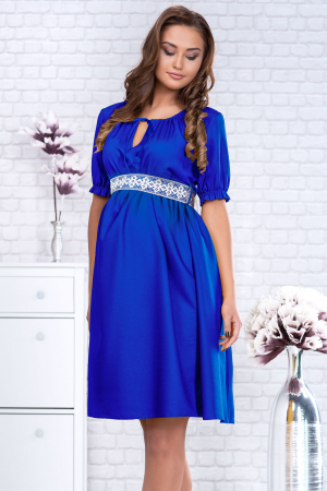 Blue Marisol - Rochie Eleganta Gravida si Maternitate0