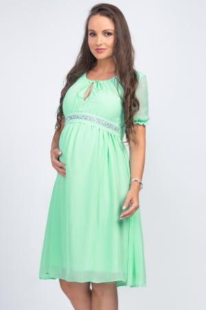 Luxe Mint - Rochie Gravida Eleganta [1]