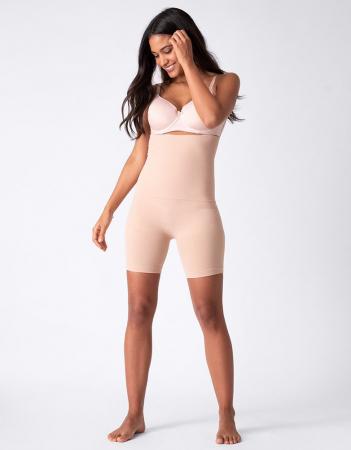 Colanti Scurti Modelatori Maternity - nuanța Nude