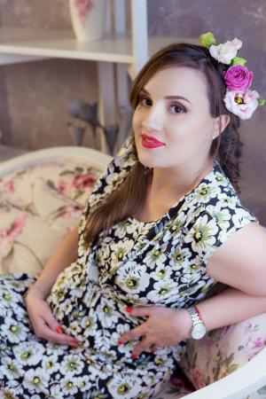 Daisy Garden - Rochie inflorata de zi pentru Sarcina & Alaptare0