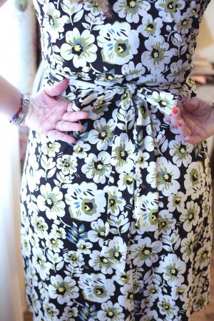 Daisy Garden - Rochie inflorata de zi pentru Sarcina & Alaptare3