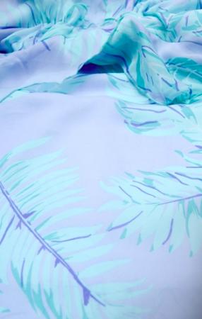 Exotic Palm - Rochie Eleganta Gravida, textura subtire si matasoasa1