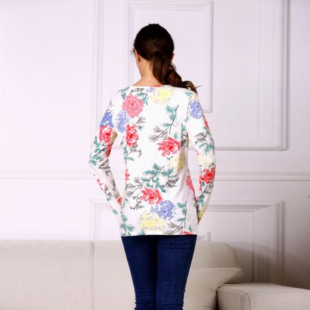 Happy Flower - Bluza alaptare cu imprimeu vesel2