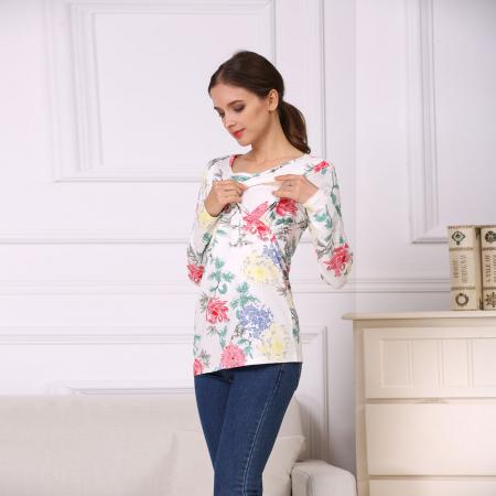 Happy Flower - Bluza alaptare cu imprimeu vesel5
