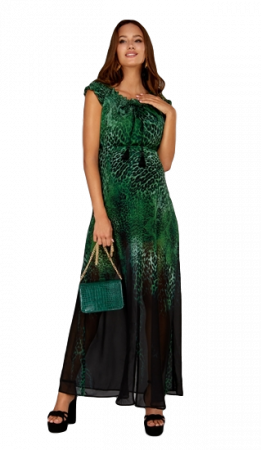 Jungle Love - Rochie Lunga Gravida & Maternitate1