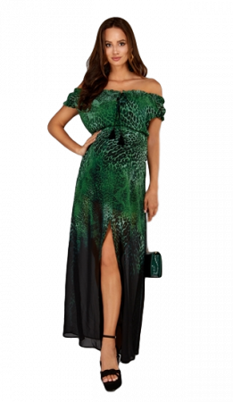 Jungle Love - Rochie Lunga Gravida & Maternitate0