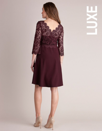 Luxe Burgundy - Rochie Eleganta Gravida & Alaptare, Transport Gratuit2