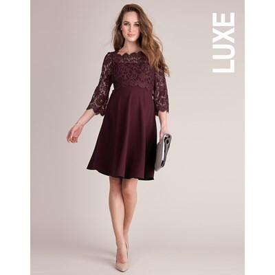 Luxe Burgundy - Rochie Eleganta Gravida & Alaptare, Transport Gratuit0