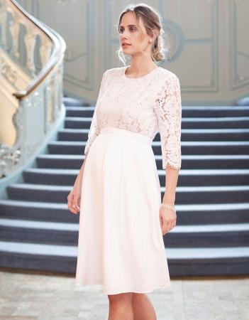 Luxe White Dream - Rochie Premium de Mireasă, bust din dantelă de mătase1