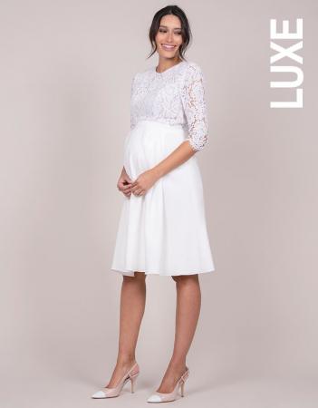 Luxe White Dream - Rochie Premium de Mireasă, bust din dantelă de mătase2