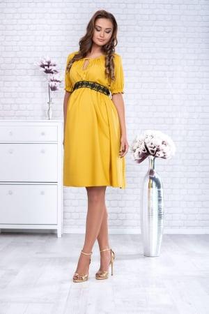 Marisol - Rochie Gravida Eleganta, Transport Gratuit0