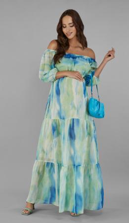 Marisa - Rochie lungă, elegantă, pentru sarcină și maternitate