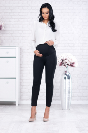 Pantaloni Flausati Gravide  - Catifea Interioara [0]