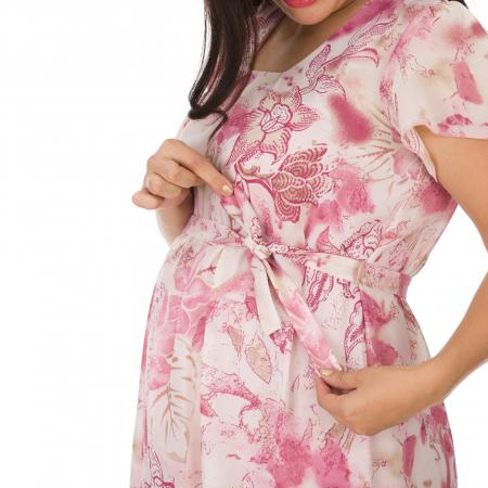 Pink-flora-rochie-eleganta-gravide [2]