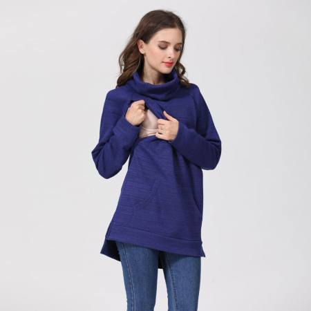 Pulover Gros Blue Winter - Sarcina & Alaptare4