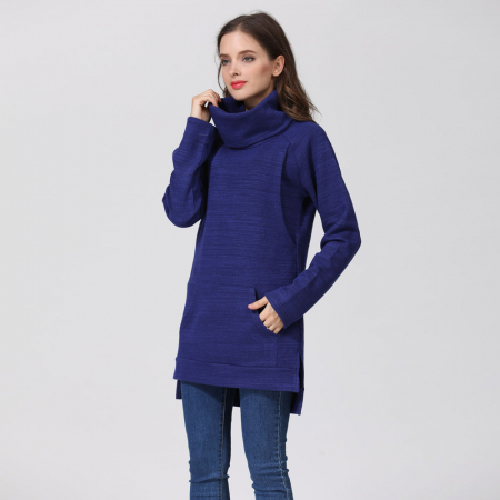 Pulover Gros Blue Winter - Sarcina & Alaptare2