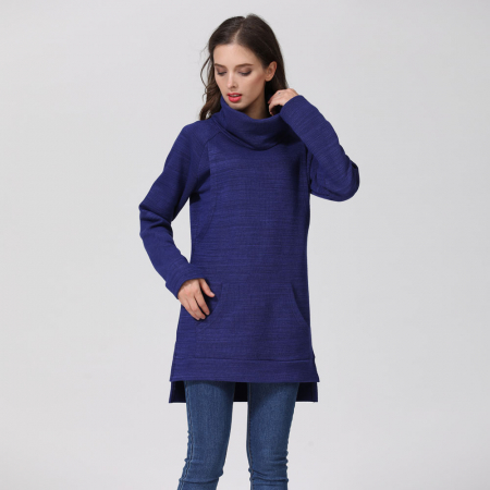 Pulover Gros Blue Winter - Sarcina & Alaptare6