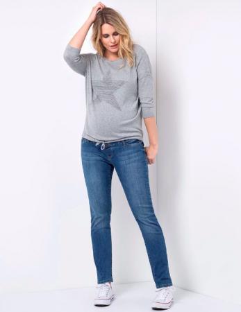 Relax Mama Jeans - Blugi pentru Gravide [5]