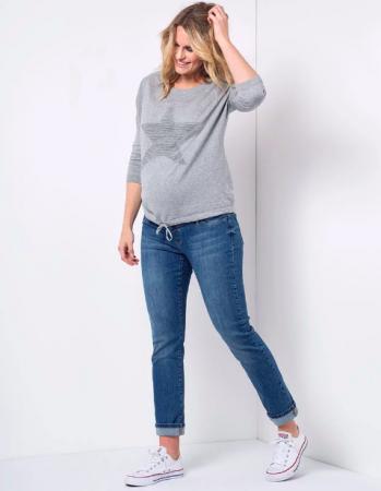 Relax Mama Jeans - Blugi pentru Gravide [3]