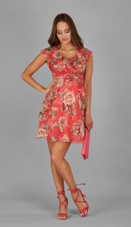 Rose Elegance - Rochie Eleganta pentru Gravide, Subtire si Matasoasa0
