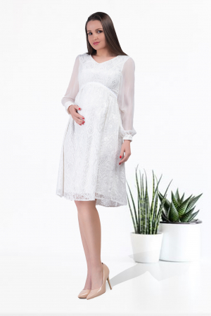 Luxe Blanca - Rochie Super Eleganta,Sarcina si Maternitare0