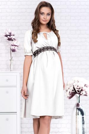 White Marisol - Rochie Gravida Eleganta, Transport Gratuit0