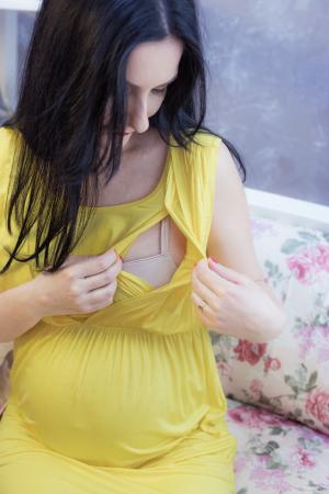 Yellow Mama - Rochie Gravida & Alaptare, marime XXL, Transport Gratuit3