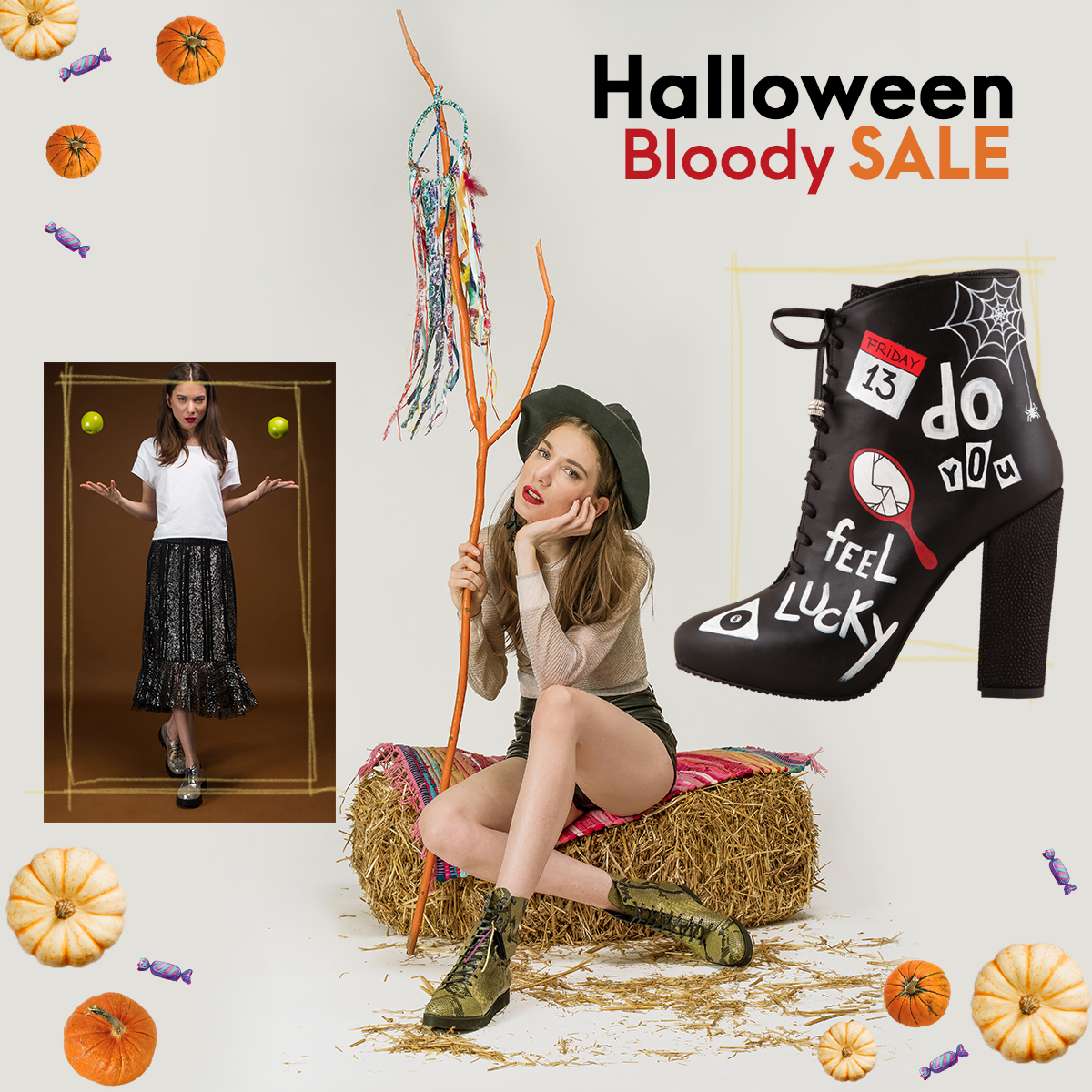 Halloween Bloody Sale