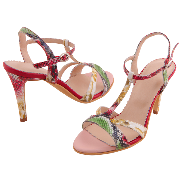 Allure Red Tropical Print 2