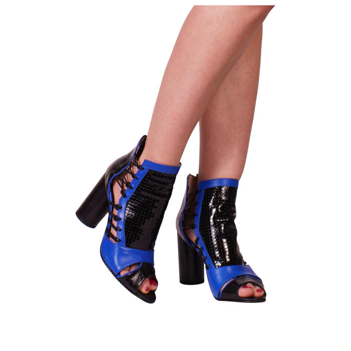 Botine Playa Kinetic Blue 0