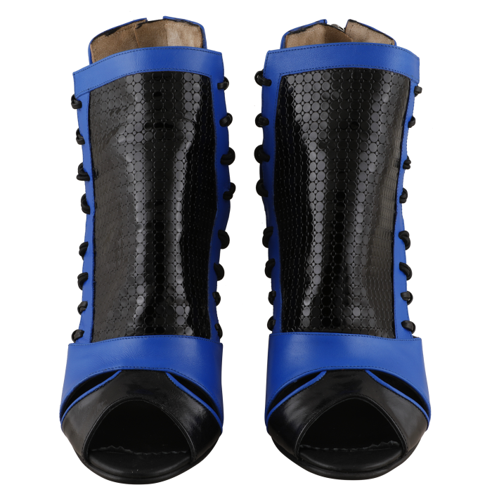 Botine Playa Kinetic Blue 1