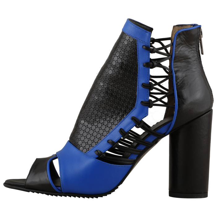 Botine Playa Kinetic Blue 4