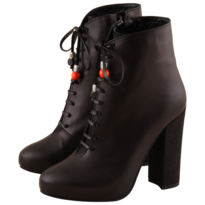 Botine Statement Black Carioca 2