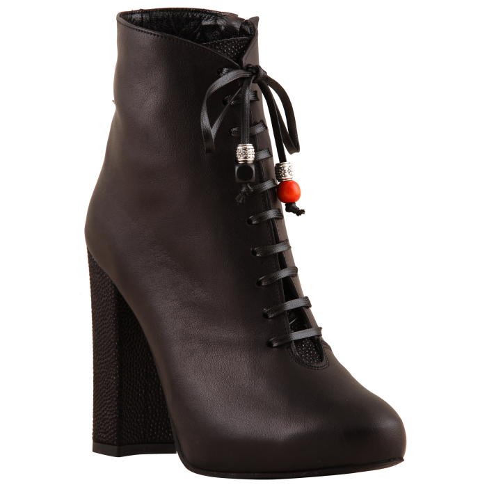 Botine Statement Black Carioca 6
