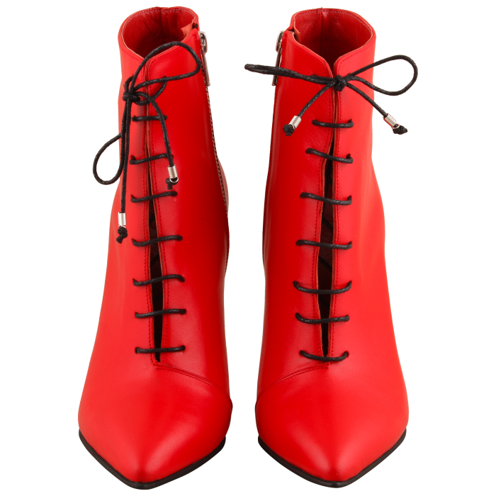 Botine Statement Red Lamp 1