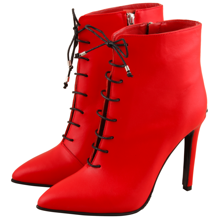 Botine Statement Red Lamp 2