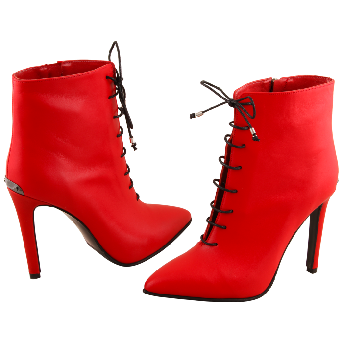 Botine Statement Red Lamp 3