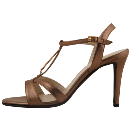 Sandale Allure Metallic Brown0