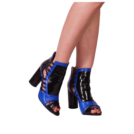 Botine Playa Kinetic Blue0